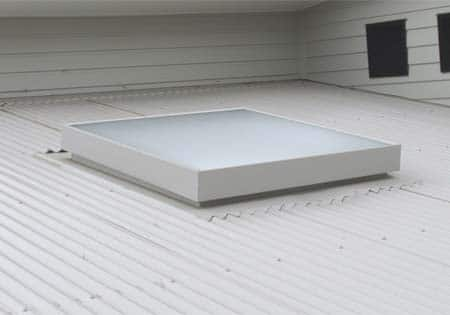 1000 x1200 Skylight on a Custom Orb Roof