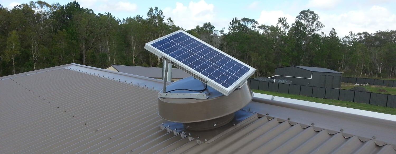 Roof Ventilation - Solar Whiz