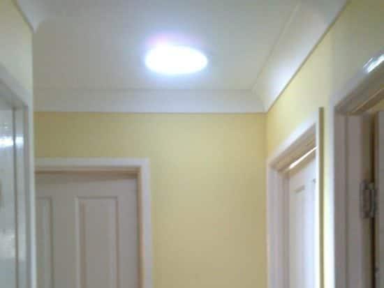 300 Round Hallway Skylight