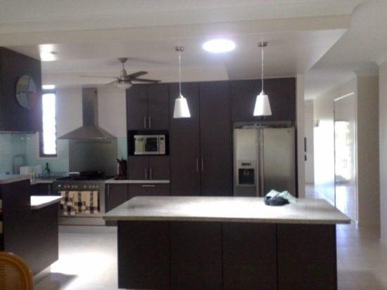 400 Round Skylight Modern Kitchen