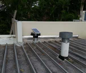 Custom Solar Whiz Installation