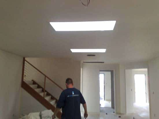 Open Plan Dual Skylights