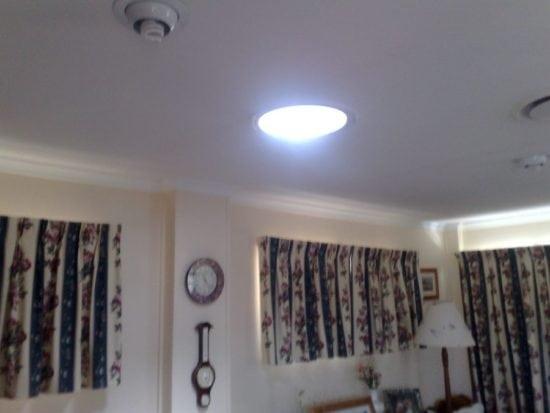 Round Lounge Room Skylight