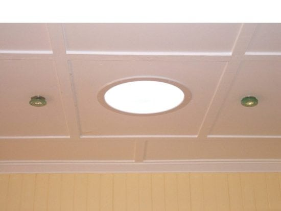 Round Skylight 500 Ceiling Surround