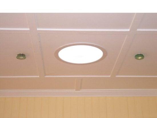 Round Skylight 500 Ceiling Surround