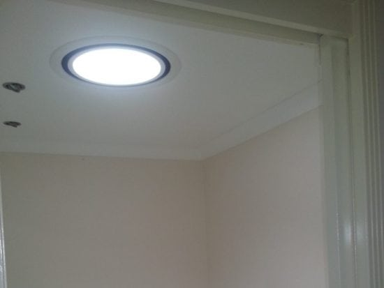 Bathroom Skylight Round Vented