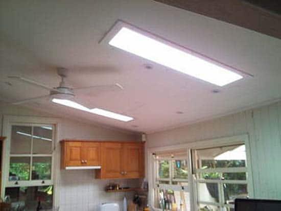 Dual Rectangular Square Sunshine Skylights
