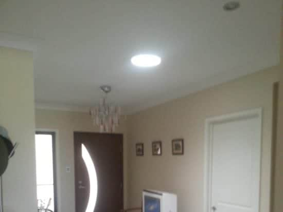 Home Entrance Round Skylight