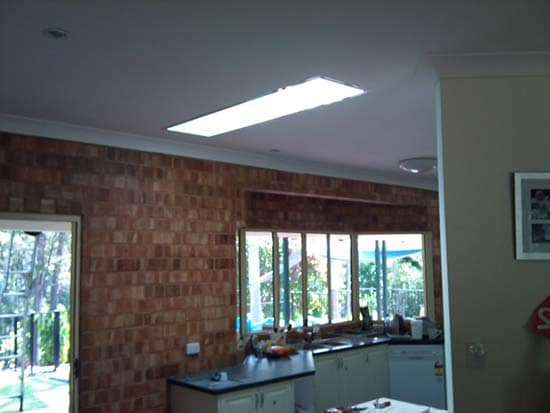 Kitchen Rectangular Skylight