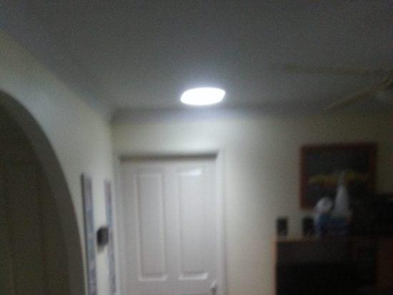 Living Room Round Skylight