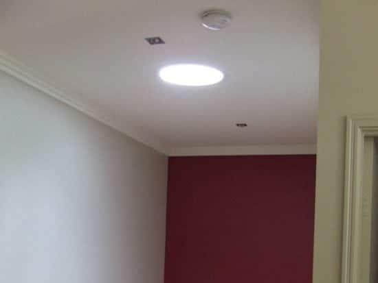 Round-Stairwell Skylight