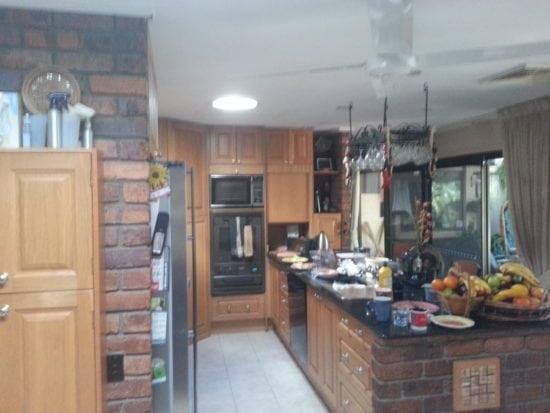 Round skylight in Kitchen