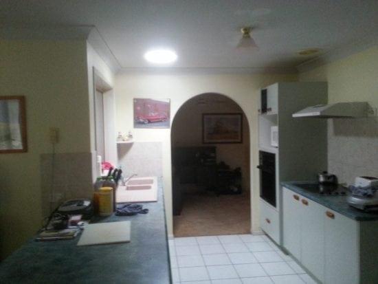 Round Skylight Kitchen