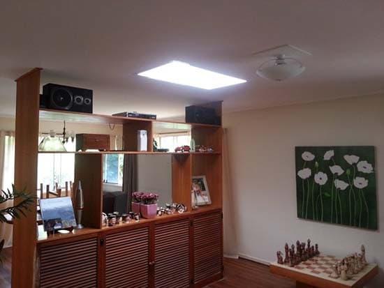 Skylight Living Area