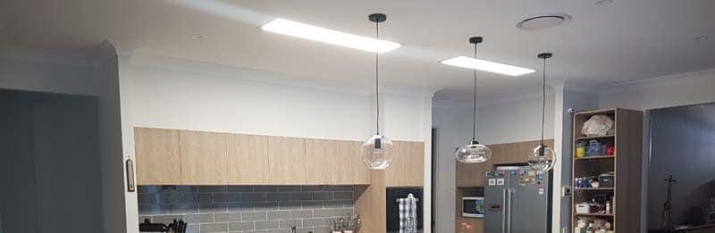 solar light whiz in kitchen