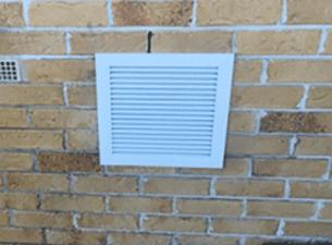 subfloor ventilation solar fan system
