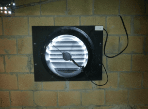under floor ventilation