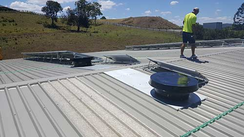 commercial solar whiz north coast-petroleum roof