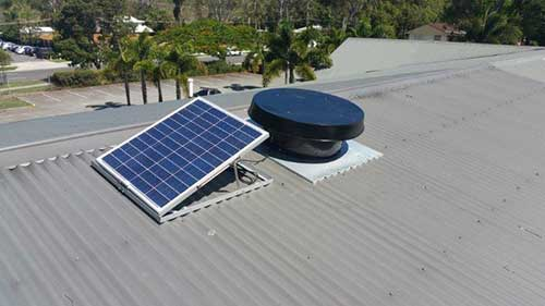 commercial solar whiz ormiston church roof commercial exhaust fans