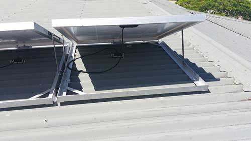 commercial solar whiz ormiston church roof solar panel for industrial extractor fans